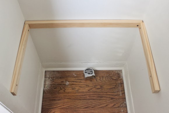 Steps To Hang Shelves