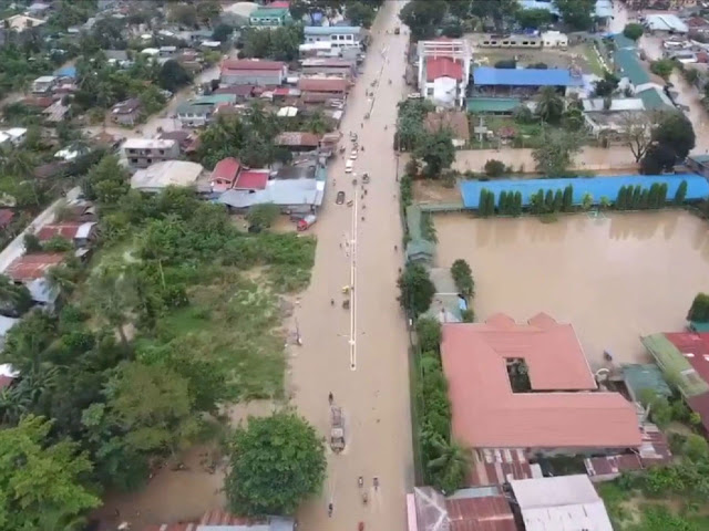 Flooding on Mindanao, the second largest island in the Philippines