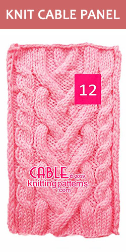 Knitted Cable Panel Pattern , its FREE