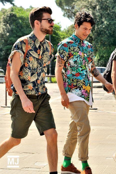 Macho Moda - Blog de Moda Masculina  Camisa Resort Masculina afc12177f9b85