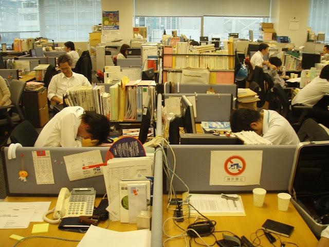 Inemuri, The Japanese Art of Sleeping at Work