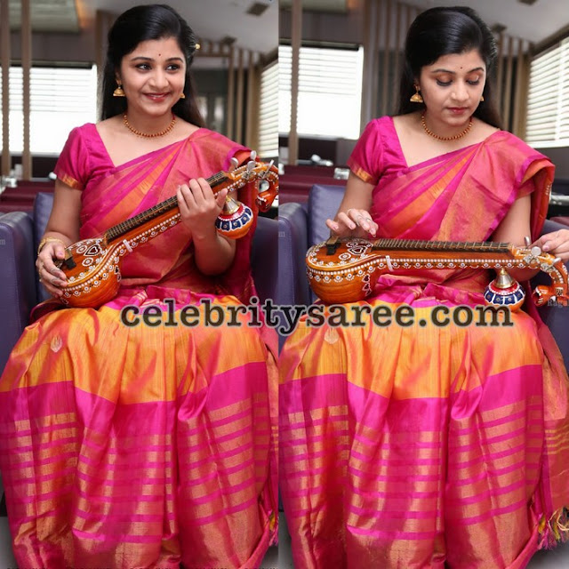 Veena Srivani Tissue Silk Saree
