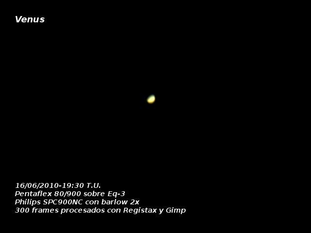 Venus 16 de junio de 2010