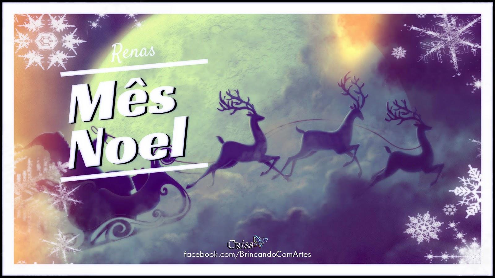 A Rena Mais Famosa Do Papai Noel brincando com arte - o¤°sorriso°¤o: renas sabem voar?