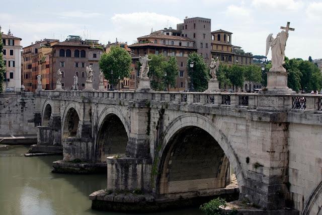 PonteSantAngelo JimmyHarris - Castel Sant'Angelo - arquitetura e história
