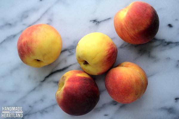 Peach Crumble Pie Recipe
