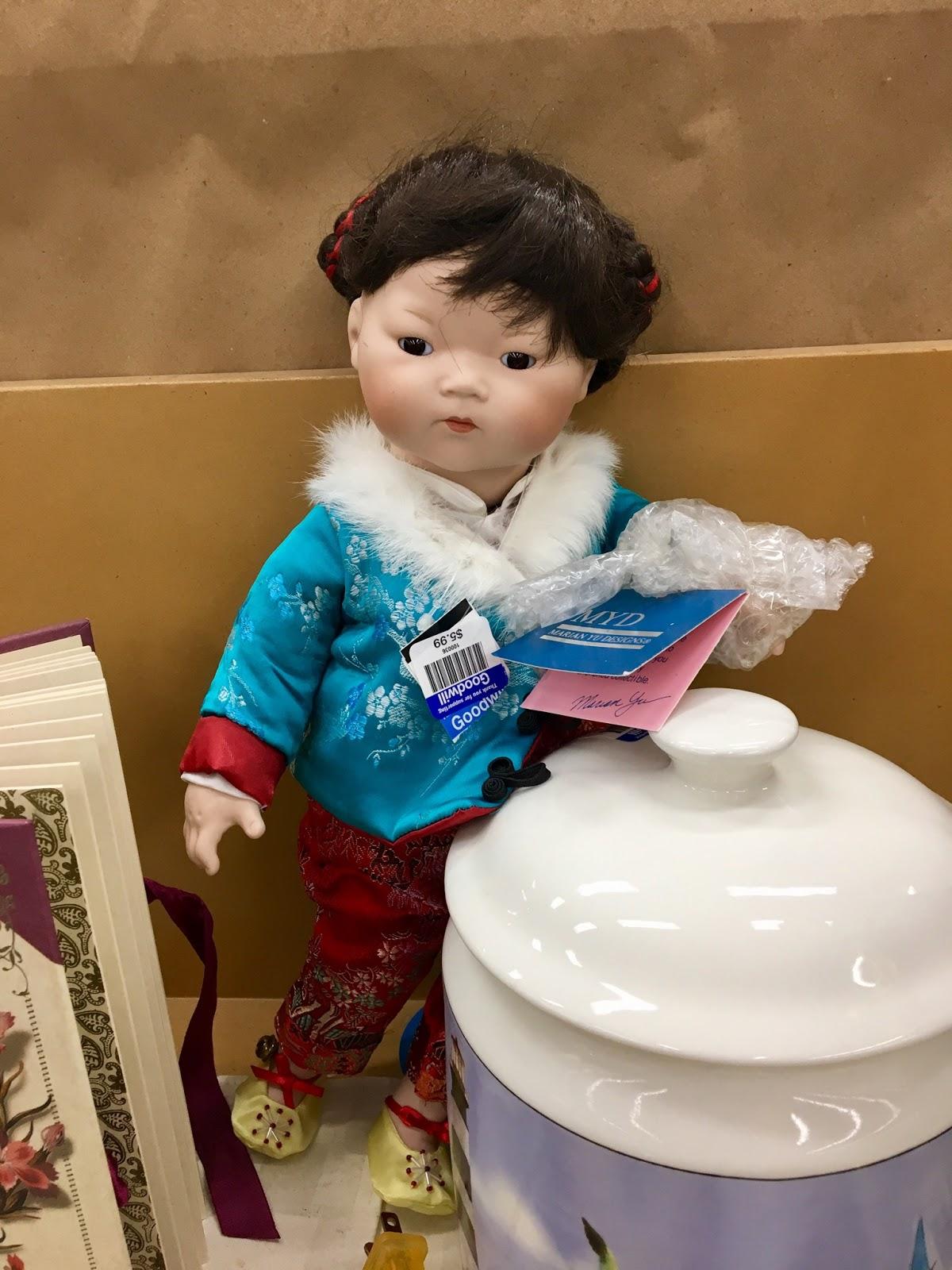 pennilesscaucasianrubbish american doll adventures recent thrift