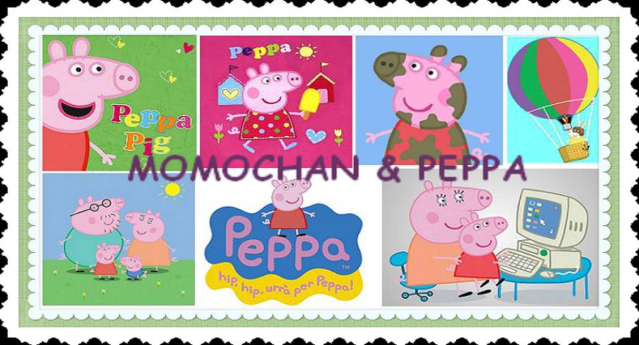 Momochan E Peppa Peppa Pig Present