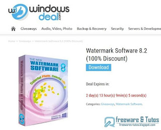 giveaway Watermark Software 8.2