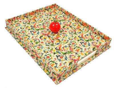 paper tray desk tidy, www.parvumopus.com