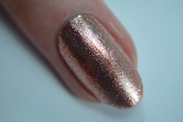 cirque halcyon macro furious filer swatch rose gold metallic