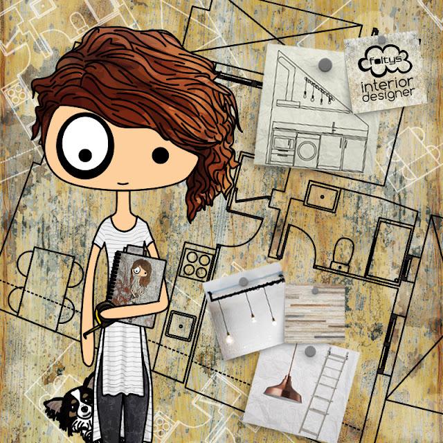 ilustracion | illustration foltys vs the interior designer