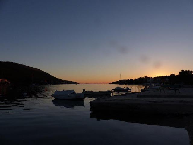 Grebastica Kroatien Urlaub Camping Roadtrip Zelten Autokamp Strand Meer Dalmatien