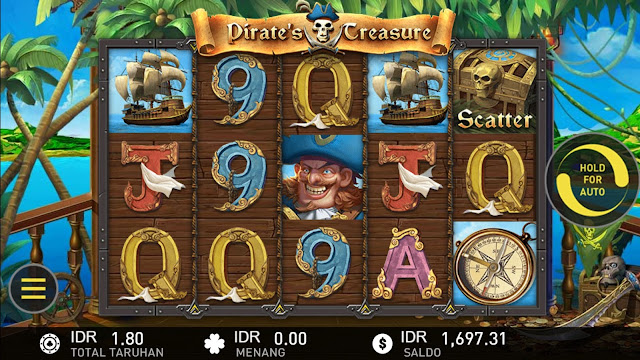 SITUS AGEN SLOT PIRATE'S TREASURE GAMES W88