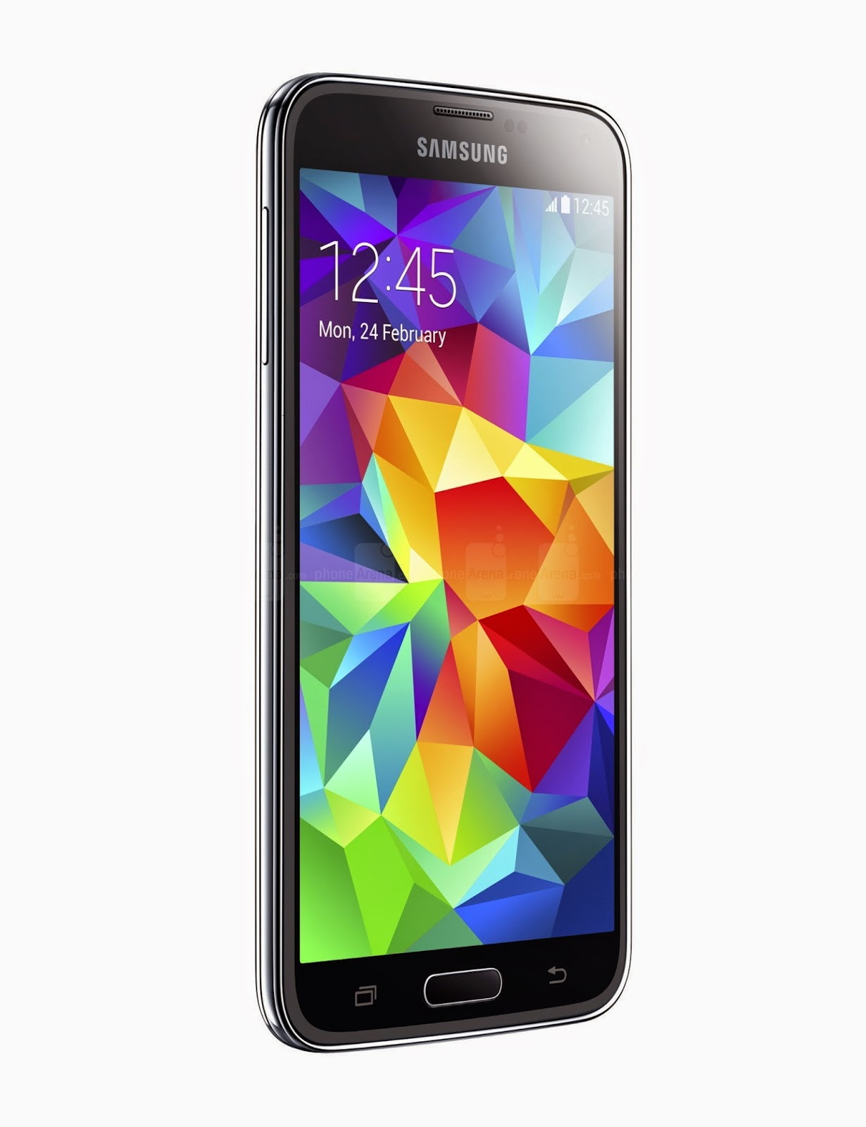 Samsung Galaxy Left View S5