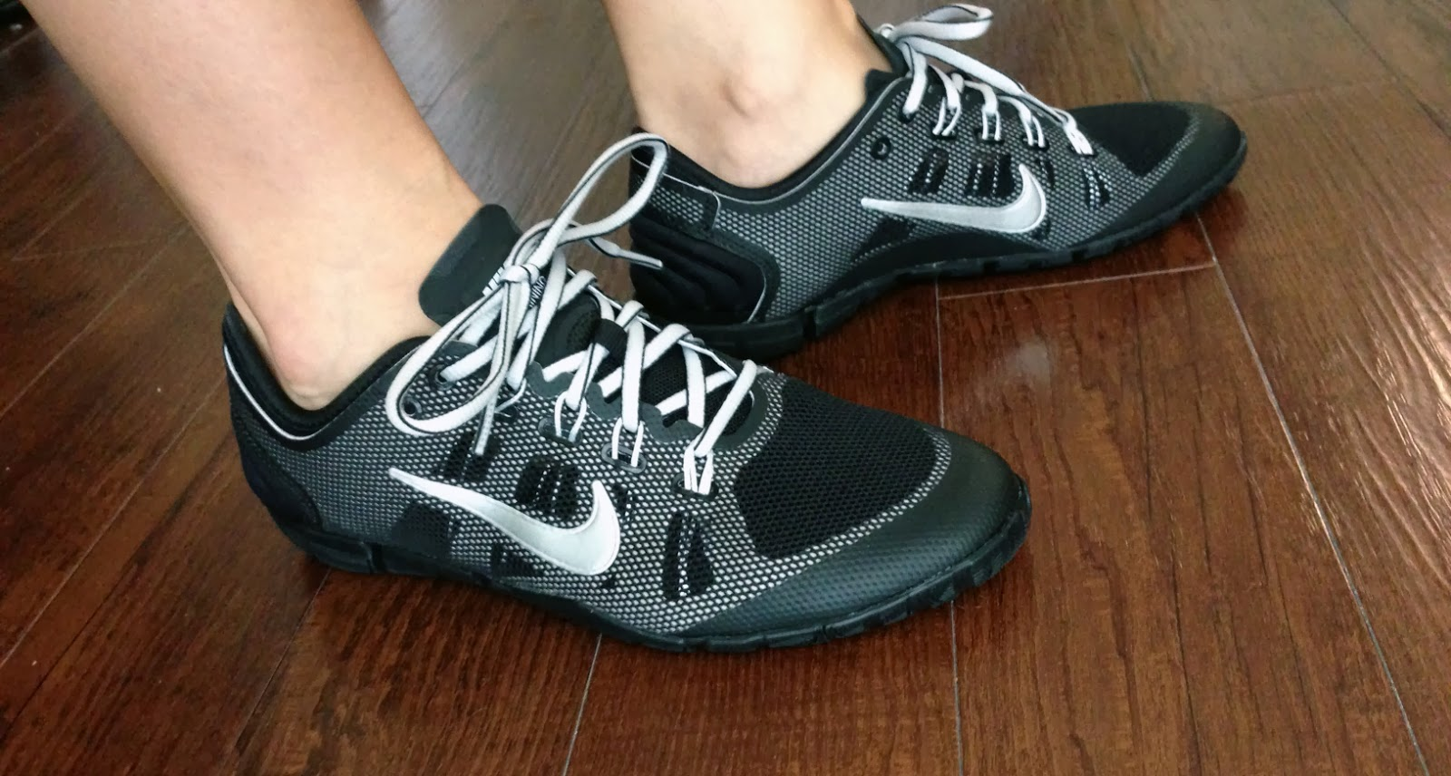 separation shoes 8d07e 47e94 My Superficial Endeavors  Nike Free Bionic Training Shoe - Black Silver