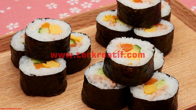 resep masakan ala jepang, resep masakan, cara membuat sushi