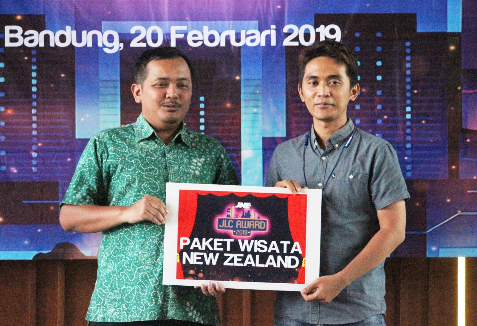 Ceremonial Penyerahan Hadiah JLC Awards 2019 di Bandung