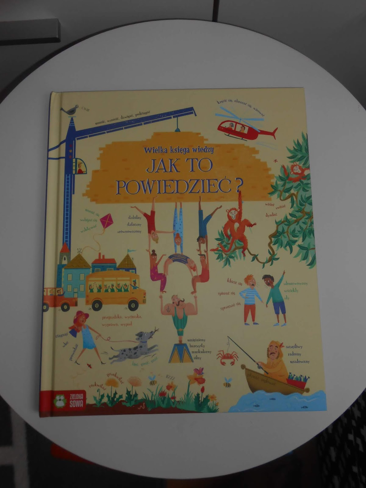 Wydawnictwo Zielona Sowa- Wielka Księga Wiedzy. Jak To Powiedzieć?