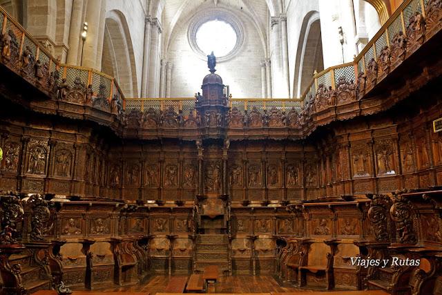 Coro de la Catedral de Santo Domingo de la Calzada, la Rioja