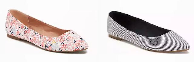 Old Navy Pointy Ballet Flats $14 (reg $23)