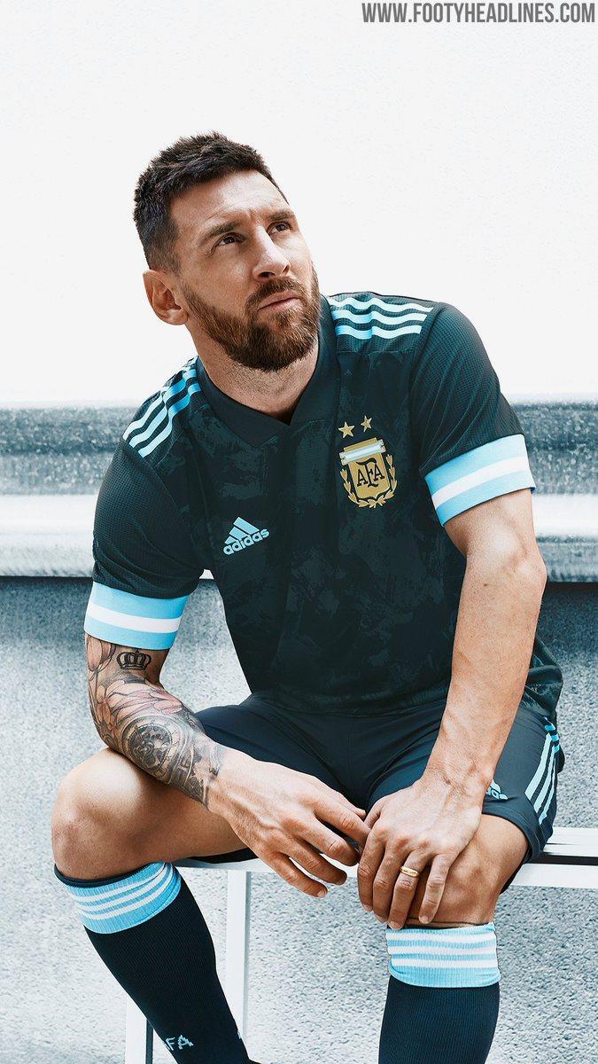 Argentina 2020 Copa America Away Kit Released - Footy Headlines