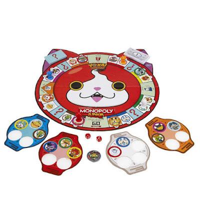 JUGUETES - YO-KAI WATCH Monopoly Junior : Juego de Mesa | Yokai Hasbro B6494 | 2-4 jugadores | A partir de 5 años Comprar en Amazon España