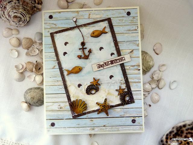 morskie klimaty na kartce