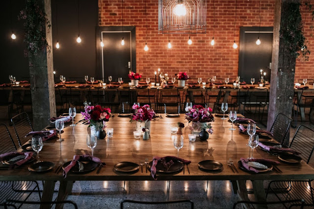 CHIC WAREHOUSE WEDDING VENUE WOOLLOONGABBA PHOTOGRAPHY CATERING CLOUD CATCHER STUDIO