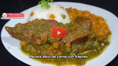 El seco de carne es una comida deliciosa de la gastronomía peruana, aprende a elaborar este exquisito plato económico y sano muy fácil de preparar.
