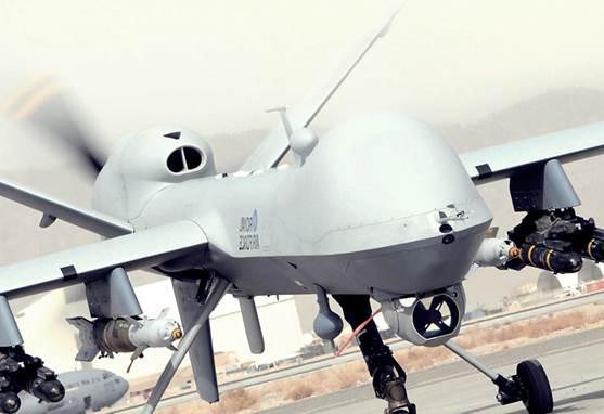 Gambar Drone Unmmaned Aerial Vehicle canggih milik Indonesia