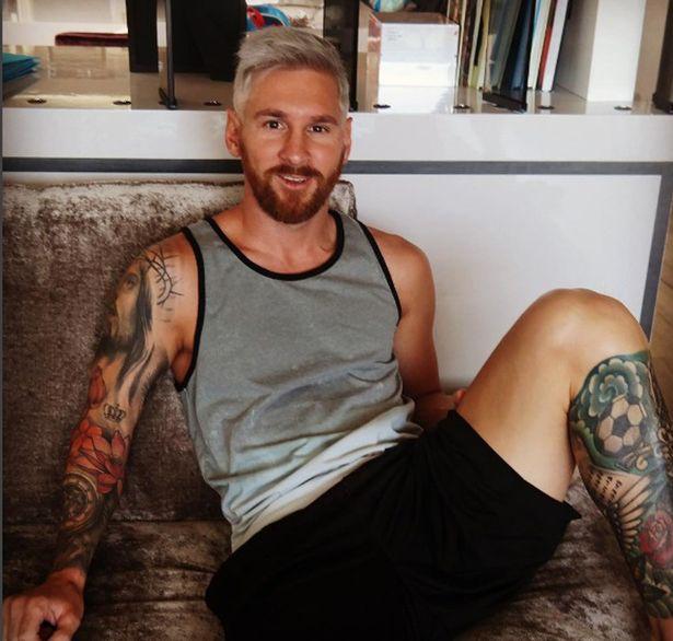 Lionel Messi Tukar Imej Rambut Jadi Kelabu