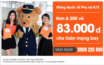 Khuyến mãi Jetstar đi Quy Nhơn giá 83.000 đồng
