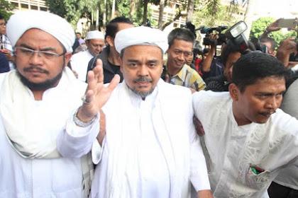 Bertubi-tubi Dilaporkan, Habib Rizieq Syihab: Saya Terima Surat Cinta Mereka