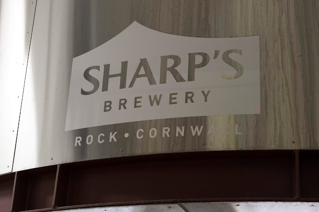 brewery tour at sharp's in rock, cornwall