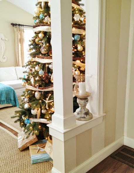 Christmas in a New England cottage