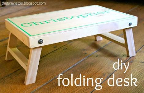 Ana White Folding Lap Desk Diy Projects