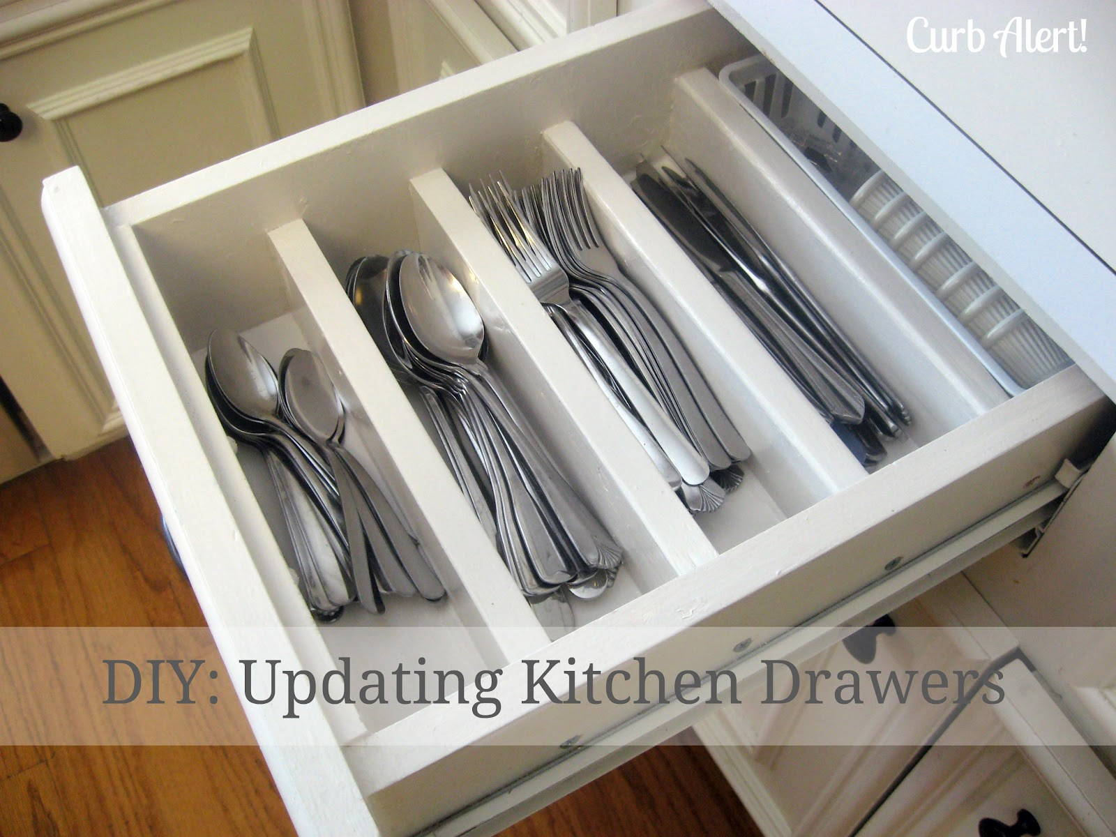 curb alert organizing chaos updating kitchen drawers. Black Bedroom Furniture Sets. Home Design Ideas