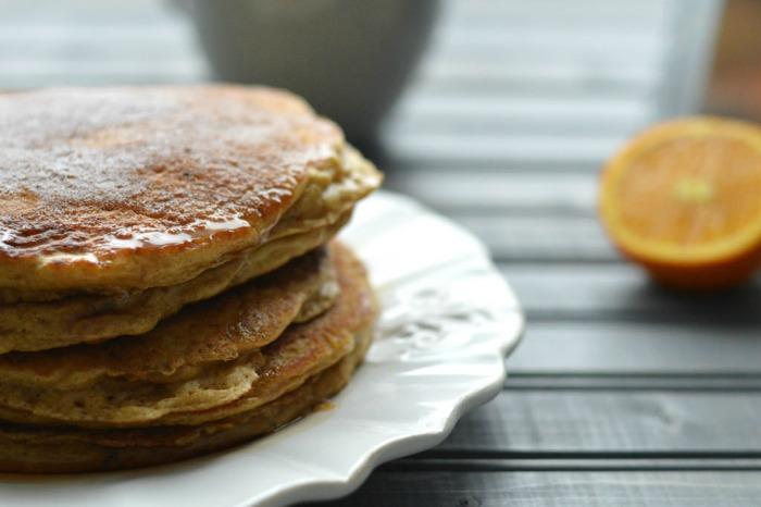 seasonal orange brunch breakfast recipe