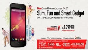 Review Spesifikasi Harga Smartfren Andromax T, Smartphone Slim And Fun