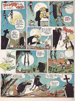 Zomby y el Gato, Creepy 2ª nº 8