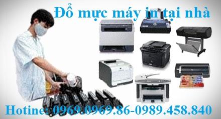 dịch vụ đổ mực máy in tai nhà Hà Nội LH 0969.0969.86