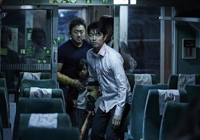 Seok Wo dan penumpang lain bertahan hidup melawan zombie