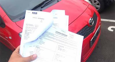 Dokumen Klaim Asuransi Mobil
