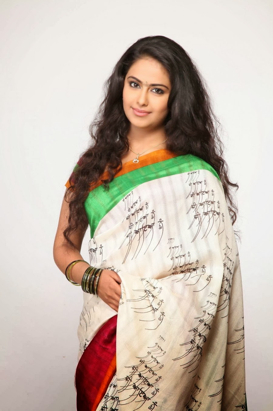 Avika Gor Photos In Designer White Saree