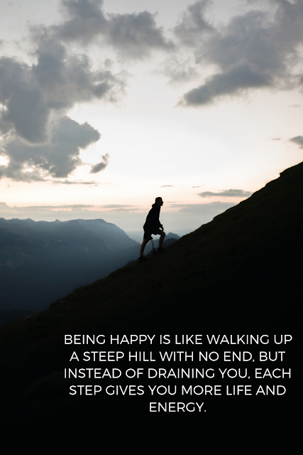 Live happy. Keep moving forward.