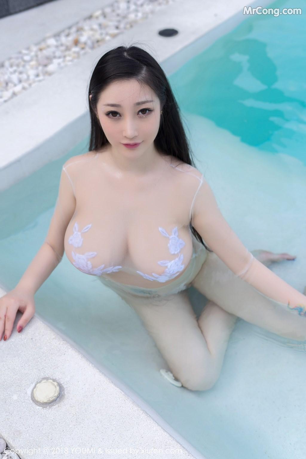 Image YouMi-Vol.183-Daji-Toxic-MrCong.com-001 in post YouMi Vol.183: Người mẫu Daji_Toxic (妲己_Toxic) (46 ảnh)