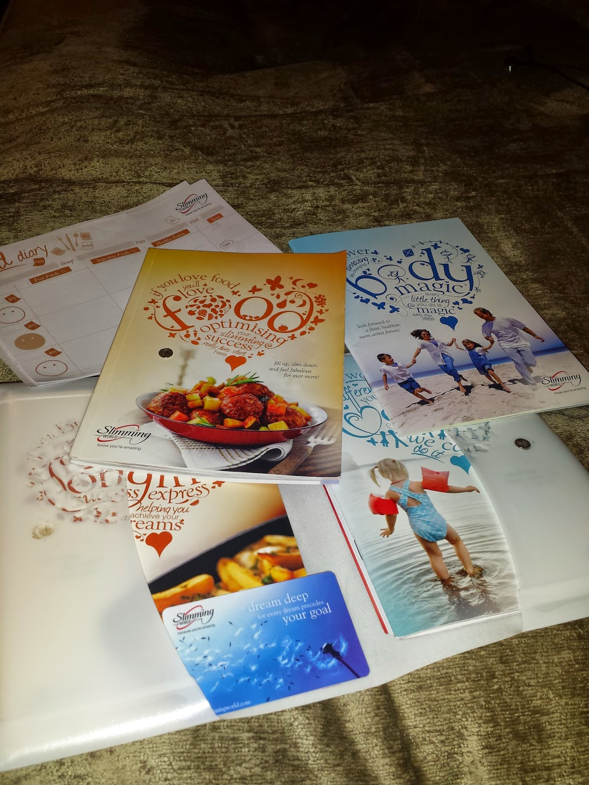 I joined slimming world neonrainbowblog Slimming world books free