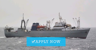 Deckhand for fishing vessel job