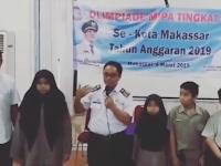 Kadisdik Kota Makassar , Apresiasi Peserta Olimpiade MIPA tingkat SD
